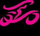 bikie chic logo trans with tagline